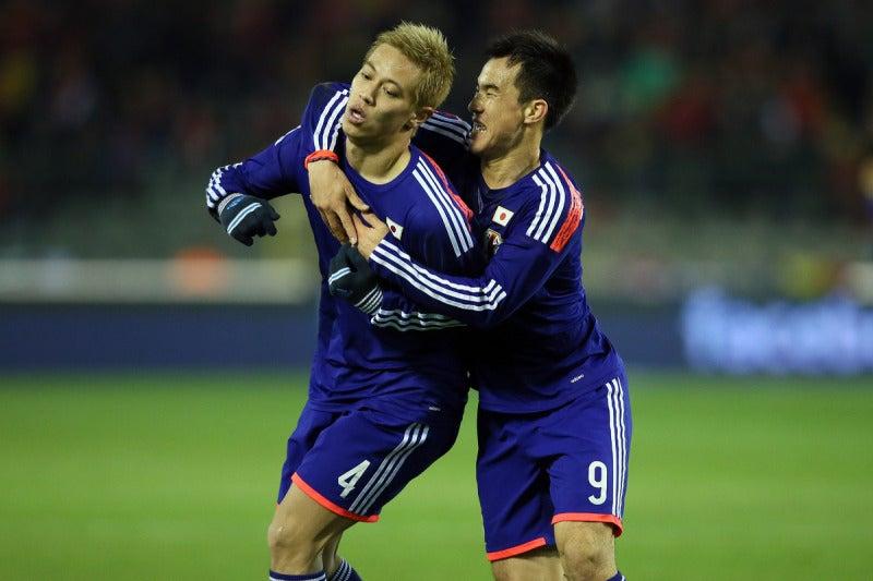 本田圭佑 岡崎慎司 サッカー 日本代表 ベルギー戦 逆転勝利