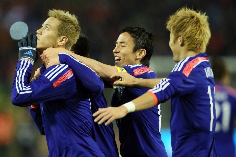 本田圭佑 サッカー 日本代表 ベルギー戦 逆転勝利