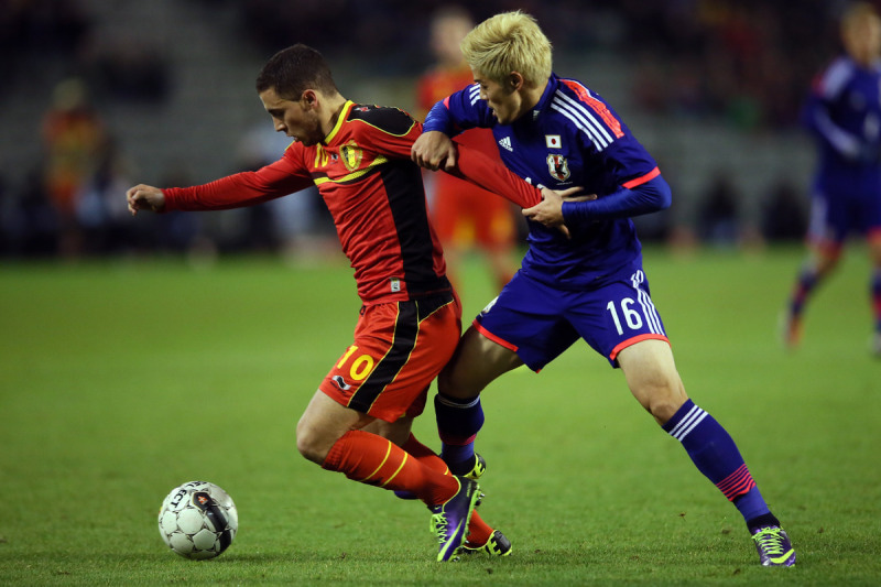 山口螢 サッカー 日本代表 ベルギー戦 逆転勝利