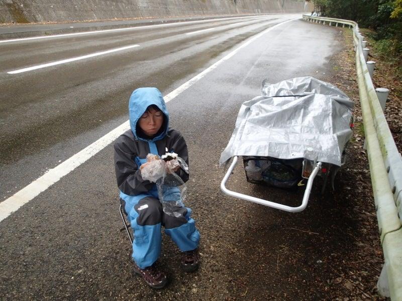 歩き人ふみの徒歩世界旅行 日本・台湾編-にわか雨