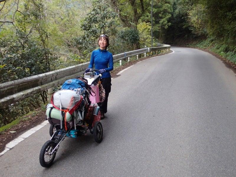 歩き人ふみの徒歩世界旅行 日本・台湾編-山道