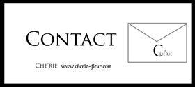 ◆Che'rie Collection・名古屋ポーセラーツ&アーティフィシャルフラワー&プリザーブドフラワー教室-シェリーお問い合わせフォーム