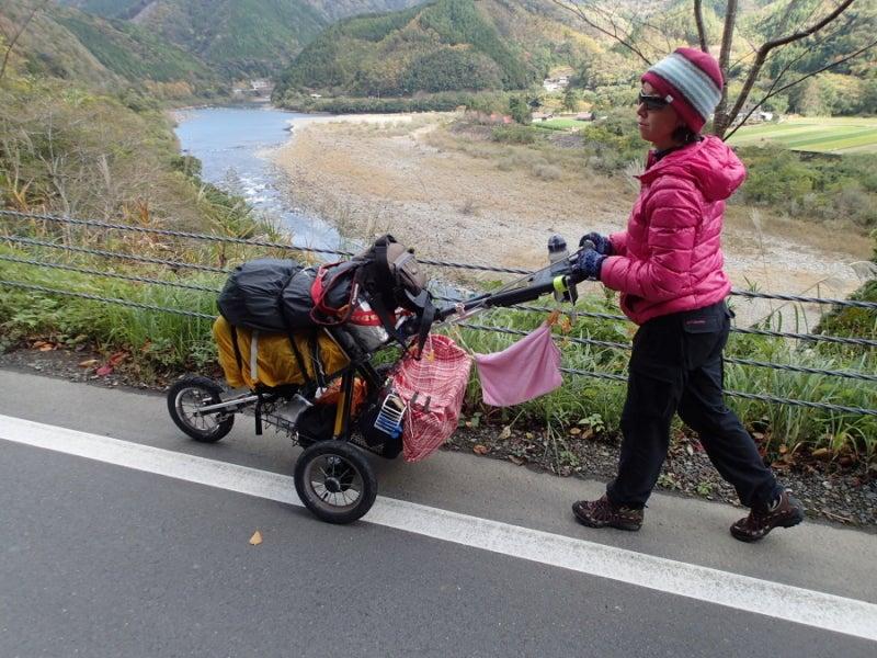 歩き人ふみの徒歩世界旅行 日本・台湾編-四万十