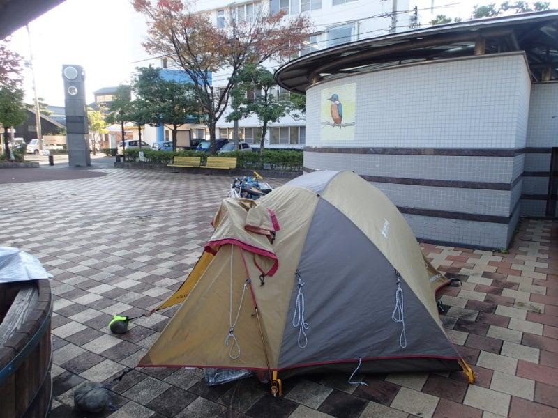 歩き人ふみの徒歩世界旅行 日本・台湾編-病院前