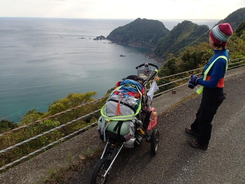 歩き人ふみの徒歩世界旅行 日本・台湾編-足摺方面
