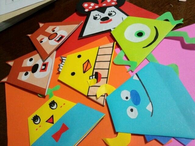 飛行機 折り紙:折り紙 指人形-ameblo.jp