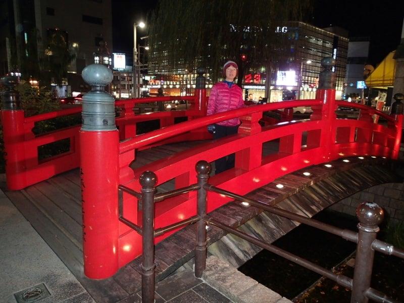 歩き人ふみの徒歩世界旅行 日本・台湾編-はりまや橋