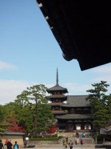おっどあい猫の碧い目紅い目ぶろぐ-奈良法隆寺五重の塔