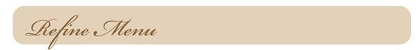 【大阪梅田】40代からのリバウンドなしエステ!!辛くない・我慢しない人生最後のダイエット☆痩身エステ 個人サロン リファイン-リファインメニューバー