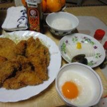 きょうの晩飯