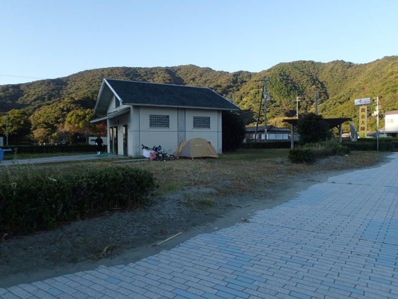 歩き人ふみの徒歩世界旅行 日本・台湾編-トイレ横