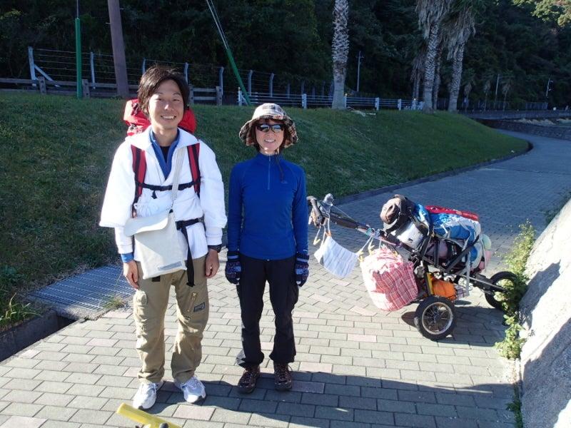 歩き人ふみの徒歩世界旅行 日本・台湾編-お遍路さん