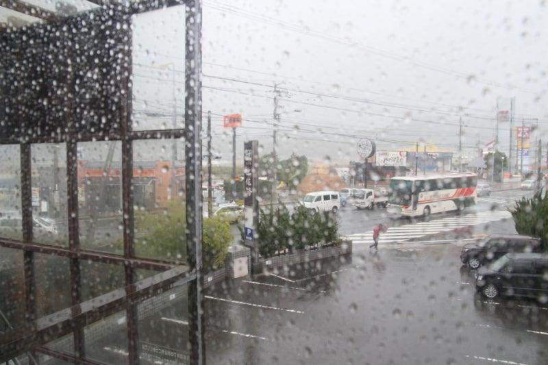 歩き人ふみの徒歩世界旅行 日本・台湾編-雨