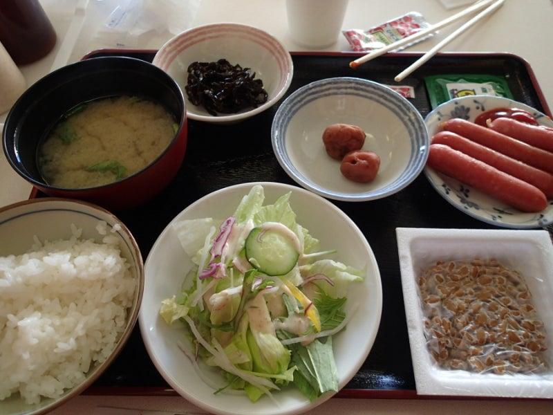 歩き人ふみの徒歩世界旅行 日本・台湾編-朝食