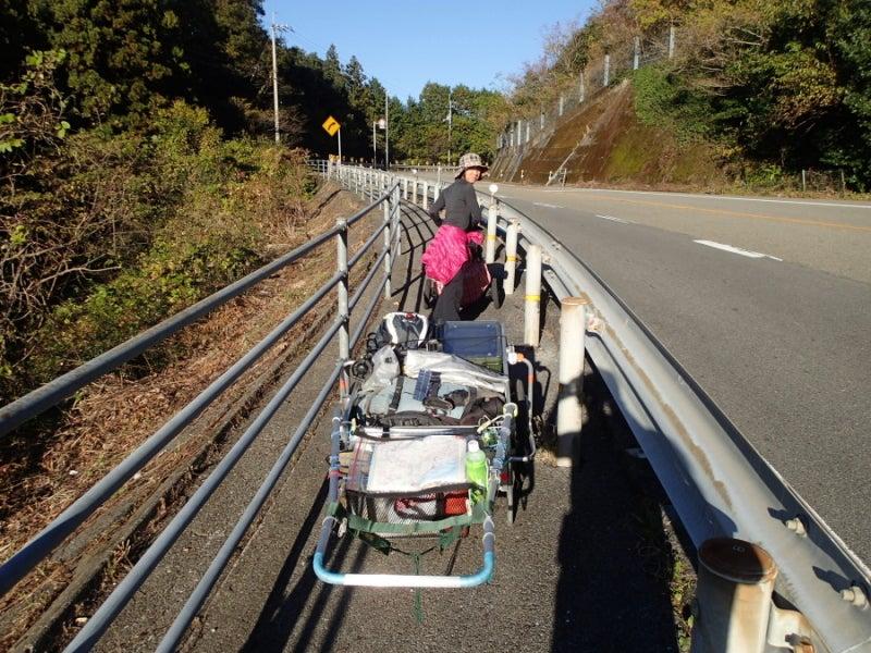 歩き人ふみの徒歩世界旅行 日本・台湾編-山中へ
