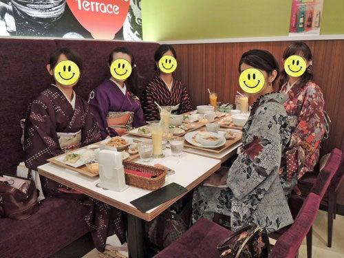 $東京で着物ライフを楽しむ会 ~東京きものライフ~-演奏会の後のお茶