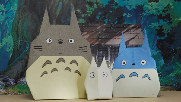 折り紙の トトロの折り紙の折り方 : ... 折り紙トトロの存在を知った