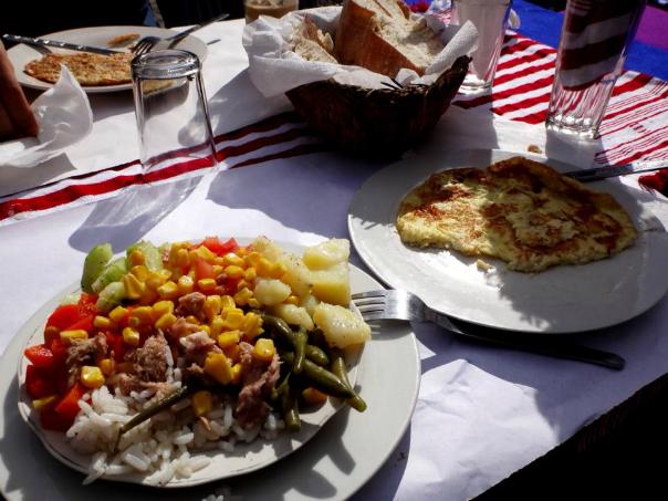 モロッコ サラダライス