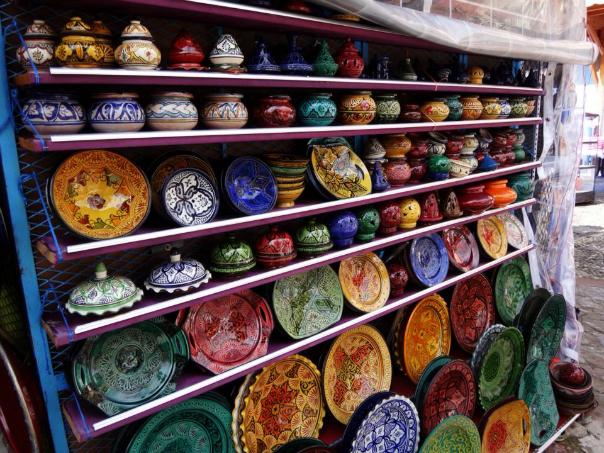モロッコ シャウエンで見た雑貨