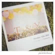 nico◡̈*blog 手作り結婚式-フォトブック