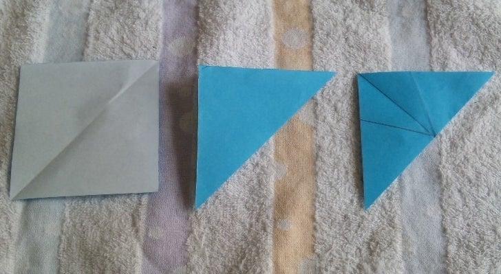 簡単 折り紙 折り紙 雪の結晶 切り方 : ameblo.jp