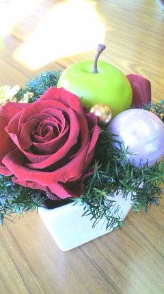 千葉県市川市 プリザーブドフラワー&フレッシュフラワー教室 ピーチフラワー Peach Flower  -2013120210530001.jpg