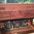 セリアの木箱をオイル…