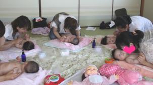 広島市南区ベビーマッサージ&ふれあい遊び教室☆ママン・アンジュ
