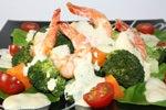 エビマヨの温野菜サラダ