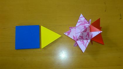 ハート 折り紙:ユニット折り紙 星-ameblo.jp