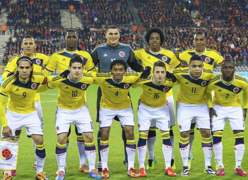 ブラジルワールドカップ グループC コロンビア