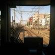 京王線の車窓から。