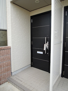 岸和田市 賃貸マンション情報-ホワイトハウスⅡ 玄関
