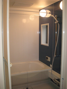 岸和田市 賃貸マンション情報-ホワイトハウスⅡ 浴室