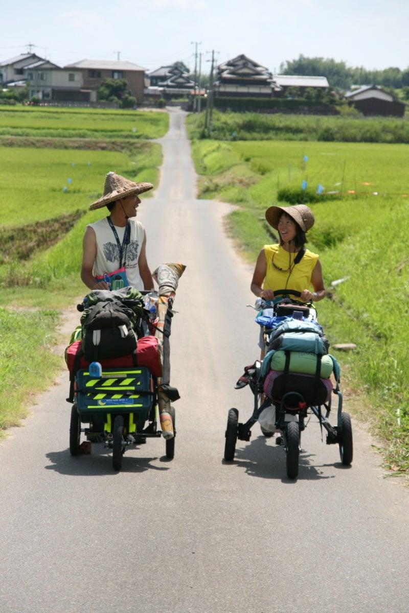 $歩き人ふみの徒歩世界旅行 日本・台湾編-ふみあゆみ