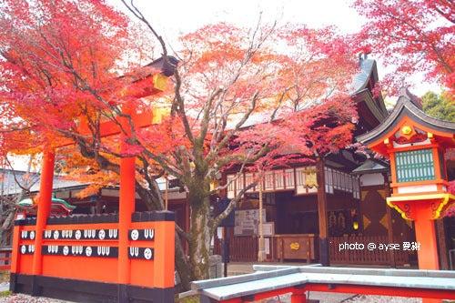 京都散歩の旅-京都 車折神社