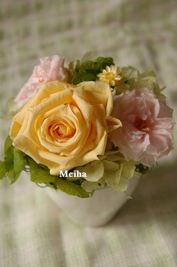 *Hana*かけら・・・神戸のプリザーブドフラワー・フラワーギフト専門店Meihua-オーダーメイド