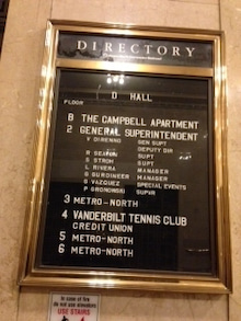 N.Y.に恋して☆-campbell apartment 2