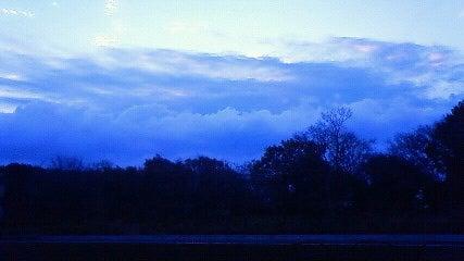 冬雨の予兆