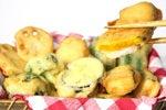 魚肉ソーセージの野菜フリッター