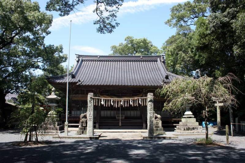 宇留津城/須佐神社