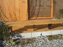 ウッドデッキと木製フェンス-3
