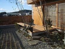 ウッドデッキと木製フェンス-4