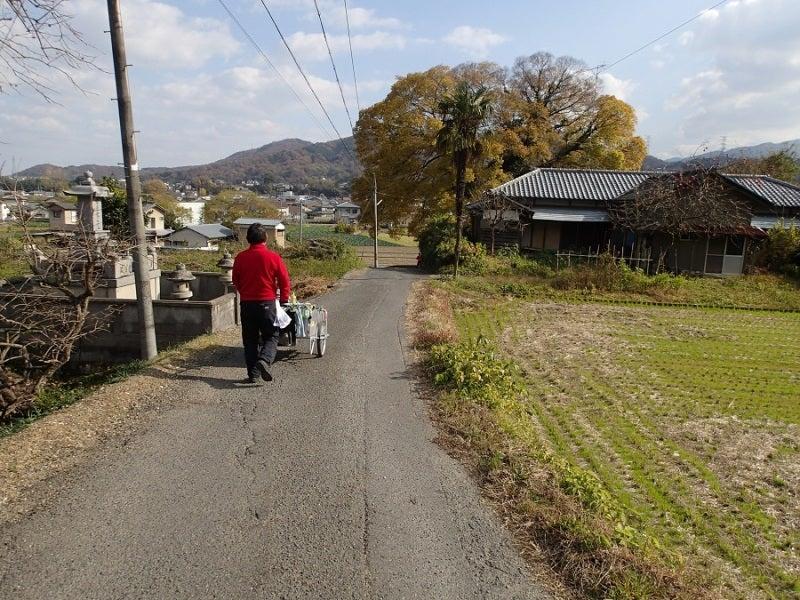 柳沢さん歩く