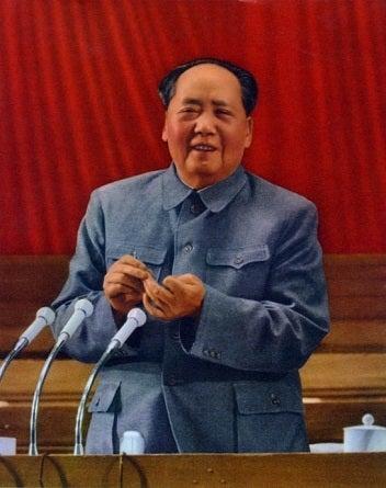 中山服毛沢東