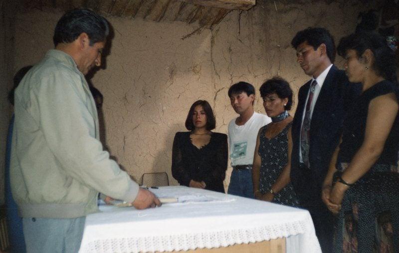 ペルーの結婚式