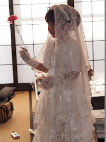 ウェディングドレス④