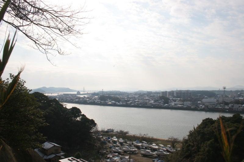 山鹿城/本丸からの眺め