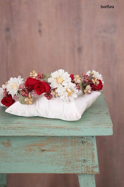 花冠 赤 白