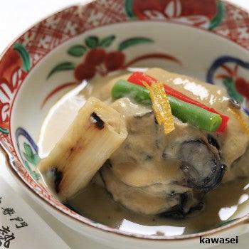 牡蠣ゆず味噌煮